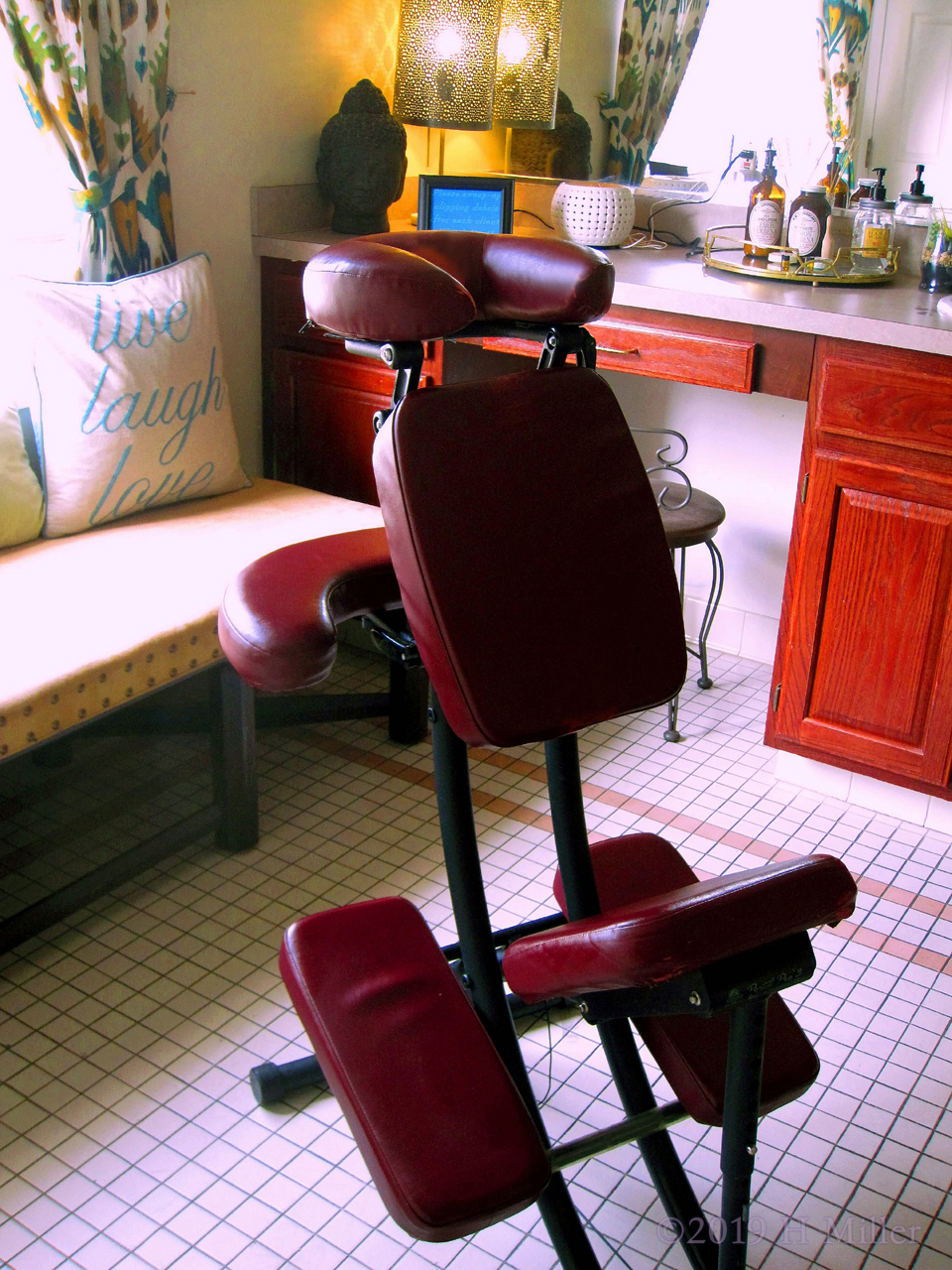 Chair Massage At The Nursing Home For Staff Appreciation