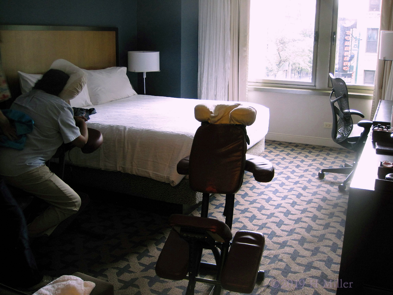 Chair Massage For Housekeeping Week At The Hotel In Manhattan