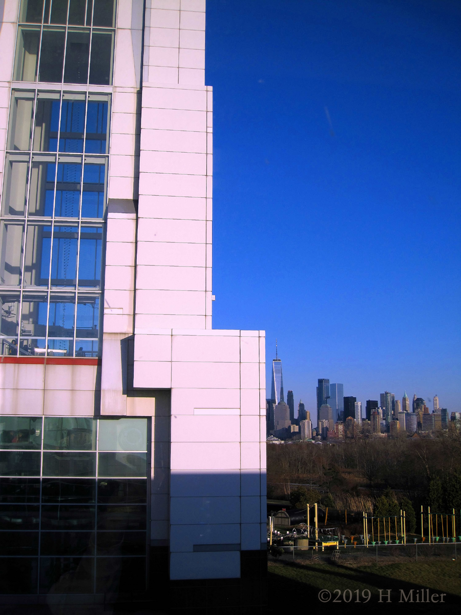 Liberty Science Center Skyline