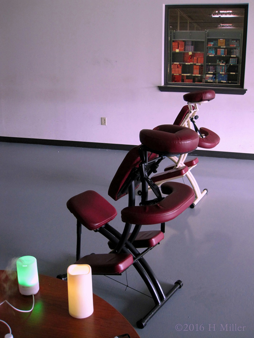 Workplace Chair Massage